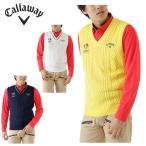 キャロウェイ ( Callaway ) ゴルフ ( メンズ ) ケーブルVネックニットベスト 241-6261502