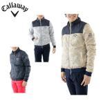 キャロウェイ Callaway ゴルフ ジャケット メンズ 北極海プリント2WAY中綿ブルゾン 241-6210506