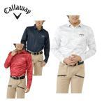キャロウェイ ( Callaway )  ゴルフ ( メンズ )  北極海プリント裏起毛スムース長袖ポロ 241-6256505