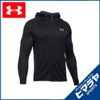 アンダーアーマー UNDER ARMOUR UA TECH TERRY FZ 1289698 001 BLACK BLACK SILVER MD