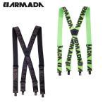 アルマダ ( ARMADA ) ウィンターウェア アクセサリー ゴムベルト Stage Suspenders ( ステージ サスペンダー )