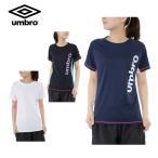 アンブロ UMBRO Tシャツ 半袖 レディース 機能Tシャツ UCS7783HMW
