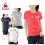 ルコック le coq sportif Tシャツ 半袖 レディース ロゴ半袖Tシャツ QB-039171T