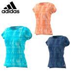 アディダス adidas テニス バドミントン ウェア レディース SUBKIT 総柄Tシャツ BXI01