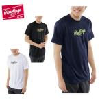ローリングス Rawlings 野球 半袖アンダーウェア スクリプトロゴTシャツ AST7S03