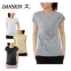 ダンスキン DANSKIN  フィットネスウェア シャツ 半袖 レディース フレンチT DB77159