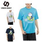ビジョンクエスト VISION QUEST Tシャツ 半袖 メンズ レディース ドラえもんTシャツ VQ530313G01 【CUTE-T】