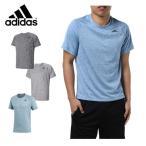 アディダス adidas スポーツウェア 半袖 メンズ D2M トレーニング杢ワンポイントTシャツ BVA78 【KPN】 MENS