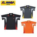 モア MMOA テニス バドミントン ウェア シャツ ジュニア メンズ レディース 男女兼用ポロシャツ MTS-1202