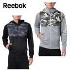 リーボック Reebok  スウェットジャケット メンズ ワンシリーズ Wハイブリッドスウェット フルジップパーカー DRJ54