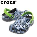 クロックス  crocs  サンダル ジュニア  クラシック グラフィック クロッグキッズ 204816-960