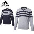 ショッピングセーター アディダス ゴルフウェア セーター メンズ JP SP ビックストライプ ロングスリーブ Vネックセーター CCP91 adidas