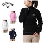 キャロウェイ Callaway  ゴルフウェア セーター レディース タートルネックニット 241-7260809