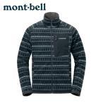 モンベル フリース メンズ クリマプラス100 プリントジャケット 1106628 mont bell mont-bell