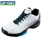 ヨネックス テニスシューズ オムニ クレー メンズ レディース パワークッション106D SHT106D-175 YONEX オムニクレー ホワイト/スカイブルー