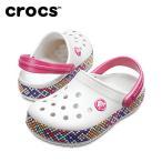 クロックス crocs サンダル ジュニア Kids' Crocband Gallery Clogs クロックバンド ギャラリー クロッグ キッズ 205171-159