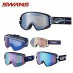 スワンズ SWANS  スキー・スノーボード メンズ  レディース スノーゴーグル 100-MDH