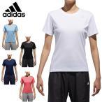 アディダス Tシャツ レディース D2Mトレーニング定番ロゴワンポイント半袖Tシャツ EUD14 adidas