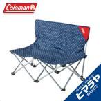 コールマン Coleman アウトドアチェア ファンチェアダブル ブルードット 2000018277