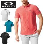 オークリー ゴルフウェア ポロシャツ 半袖 メンズ SKULL BREATHEABLE WOVEN SHIRTS  401893JP OAKLEY