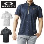 オークリー ゴルフウェア ポロシャツ 半袖 メンズ BARK AERO DELTA SHIRTS バークエアロデルタシャツ 434183JP OAKLEY