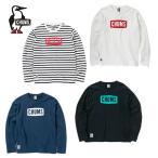 チャムス  ロングスリーブTシャツ CHUMS Logo L S T-Shirt White 日本 M  日本サイズM相当
