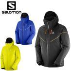 サロモン スキーウェア ジャケット メンズ ストームレース ジャケット STORMRACE JKT M BK M EU-S