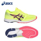 アシックス asicsレ-シング LP LADY LYTERACER TS TJL519 FLASH YELLOW BLUE PRINT 24.0cm