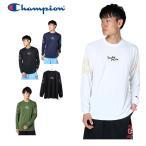 チャンピオン  プラクティス ロングスリーブTシャツ C3-NB410 メンズ ホワイト 日本 M  日本サイズM相当