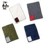 チャムス ブランケット Fleece Elmo Packable Blanket フリースエルモパッカブルブランケット CH09-1127 NV Bord RD