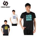 バレーボールウェア 半袖シャツ メンズ ラインTシャツ VQ570513I02 ビジョンクエスト VISION QUEST
