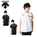 デサント バレーボールウェア 半袖シャツ メンズ グラフィックプラシャツ DX-B0065HM DESCENTE