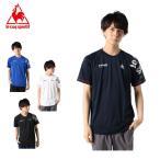 ルコック Tシャツ 半袖 メンズ プリント機能Tシャツ QMMPJA00HM le coq sportif