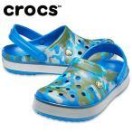 クロックス クロックサンダル メンズ Crocband Printed Clog クロックバンド プリンテッド クロッグ 205834-4JU crocs