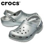 クロックス クロックサンダル メンズ レディース クラシック メタル クロッグ 205831-050 crocs