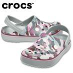クロックス クロックサンダル メンズ レディース クロックバンド プリンテッド クロッグ Crocband Printed Clog 205834-0GF crocs