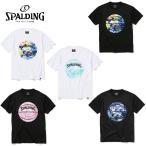 スポルディング バスケットボールウェア 半袖シャツ メンズ ウォーターマーブルボール半袖Tシャツ SMT200200 SPALDING