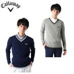 キャロウェイ ニット セーター メンズ Vネック 241-0218500 Callaway