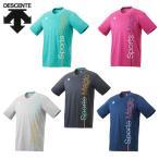 デサント DESCENTE バレーボールウェア 半袖シャツ メンズ 半袖プラクテイスシャツ DVUPJA54