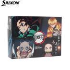 スリクソン SRIXON ゴルフボール 1ダース(12個入) AD SPEED 鬼滅の刃キャラクターボール
