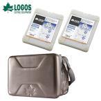 ショッピング保冷 ロゴス LOGOS 保冷剤 ハイパー氷点下クーラーL+氷点下パックGT−16℃ ハード1200g×2 お買い得3点セット R16AE008