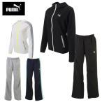 プーマ PUMA トレーニングウェア レディース 上下セット 二重織ジャケット+二重織パンツ 514215+514216