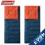 コールマン Coleman 封筒型シュラフ シュラフ パフォーマー2/C5 ネイビー/バーミリオン ×2 2000027262 お買い得2点セット  アウトドア キャンプ 寝袋 布団