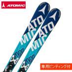 アトミック ATOMIC スキー板 セット金具付 BLUESTER FW ARC +XTO10 【15-16 2016モデル】