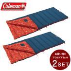 コールマン 封筒型シュラフ コージーII /C5 オレンジ セット 2000034772 Coleman