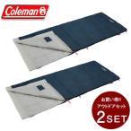 コールマン 封筒型シュラフ パフォーマーIII C15 ホワイトグレー セット 2000034776 Coleman