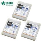 ロゴス LOGOS 保冷剤 氷点下パックGT-16℃・ハード1200g×3個 【3点セット】 R16AE020