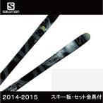 サロモン ( salomon ) ROCKER2 108 + SQUIRE 11 110mm BK スキー板・セット金具付 【14-15 2015モデル】取付料・送料無料【国内正規品】