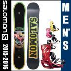 サロモン salomon スノーボード ビンディング2点セット THE FACTOR ボード :RHYTHM ビンディング 【16-17 2017モデル】