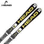 ヘッド HEAD ジュニア用スキー板 セット金具付 SUPERSHAPE TEAM LR +LRX 4.5 AC 【15-16 2016モデル】